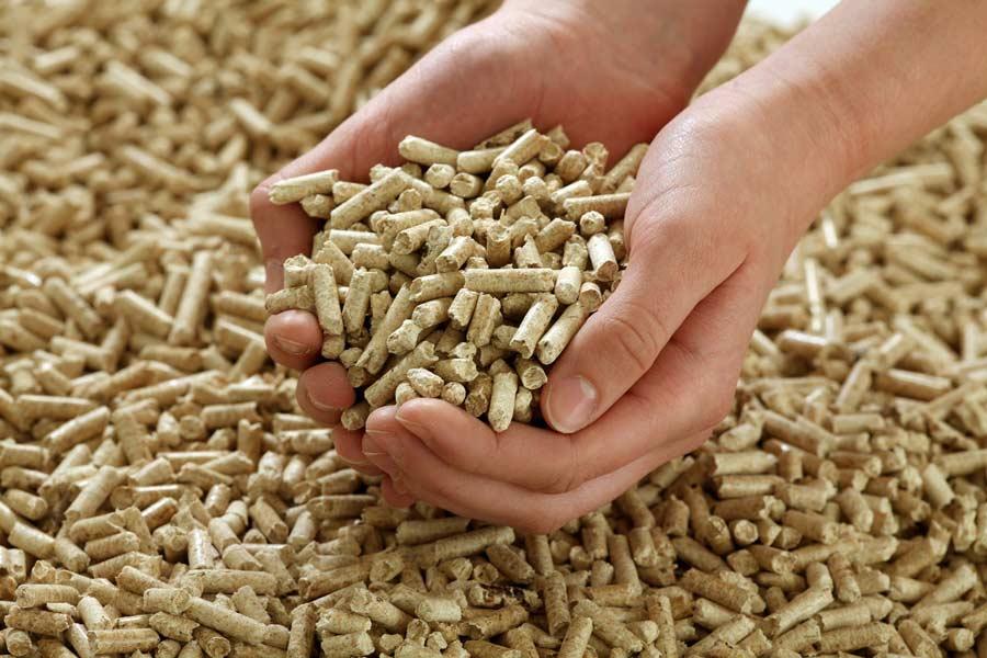 consumo estufa pellets
